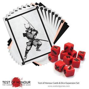 Test of Honour Dice and Cards expansion set